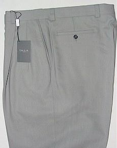 #326870. 54 XL. PEARL Retail $ 175.00 Dress Pants by TALLIA. RAYMOND GABERDINE FW:  1