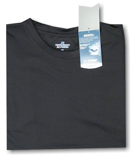 #138989. 4XL TALL. BLACK Retail $  33.00 Dri Power Crew by RUSSELL. DRI-POWER CREW TEE Whs A: 22 FBA:  2