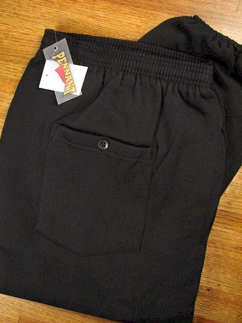 #224855. 2XL TALL. BLACK Retail $  39.00 Fleece Pants by WHITE MOUNTAIN. PENNANT FLEECE PANT Whs A: 12