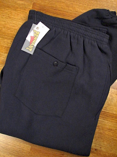 #303446. 2XL TALL. NAVY Retail $  39.00 Fleece Pants by WHITE MOUNTAIN. PENNANT FLEECE PANT Whs A: 33