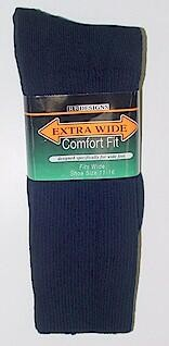 #200790.  . NAVY Retail $   9.99 King Sized Socks by EXTRA WIDE SOCK. KING SIZE X-WIDE Whs A:  8 FW:  3