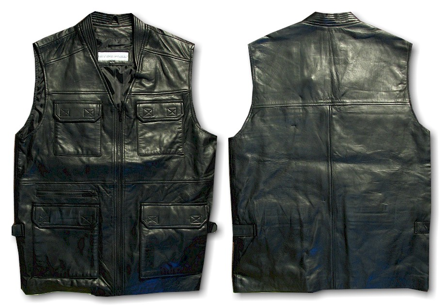 #096632. XL TALL. BLACK Retail $ 149.00 Outerwear by BIG TALL DIRECT. NEW ZEALAND VEST Whs A:  5