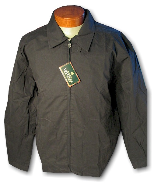 #236805. XL TALL. BLACK Retail $  59.00 Outerwear by DRIZZLER. MCGREGOR GOLF JACKET Whs A:  8