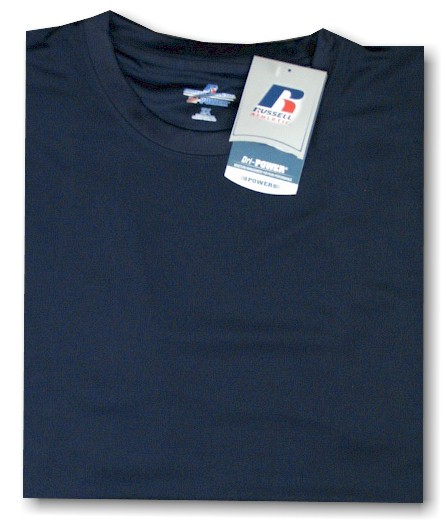 #186522. 6XL BIG. NAVY Retail $  33.00 Dri Power Crew by RUSSELL. DRI-POWER CREW TEE Whs A:  1 FBA:  5