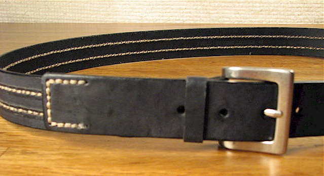 #247636. 50 . BLACK Retail $  40.00 Belts by OUTFITTER. FASHION JEAN BELT Whs A:  1