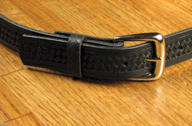 #207267. 50 . BLACK Retail $  34.00 Belts by MARK WOLF. BASKET WEAVE 1-1/4 Whs A:  1