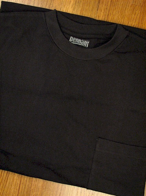 #359115. 4XL BIG. BLACK Retail $  18.00 Short Sleeve Tee by PENNANT SPORT. PREMIUM POCKET TEE Whs A: 30