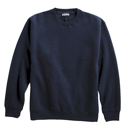 #023726. 6XL TALL. NAVY Retail $  42.00 Athletic Crew by WHITE MOUNTAIN. PENNANT FLEECE CREW Whs A:  3