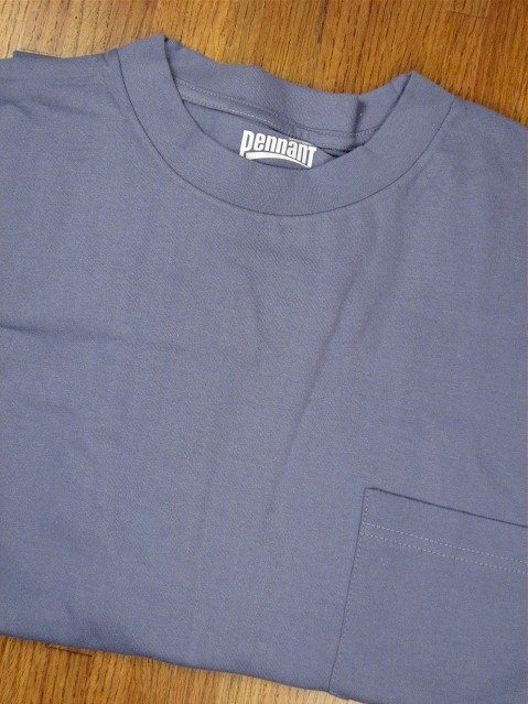 #334381. 4XL BIG. BLUE Retail $  18.00 Short Sleeve Tee by PENNANT SPORT. PREMIUM POCKET TEE Whs A: 21