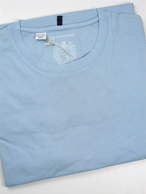 #314167. 4XL BIG. BLUE Retail $  59.00 Short Slv No Pocket by CUTTER BUCK. LAID BACK WEEKEND TEE