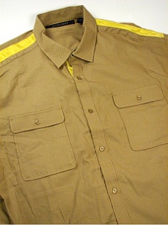 #314590. 5XL TALL. KELP Retail $  74.00 Short Sleeve Updated by SEAN JOHN. 2-POCKET MICRO DOT