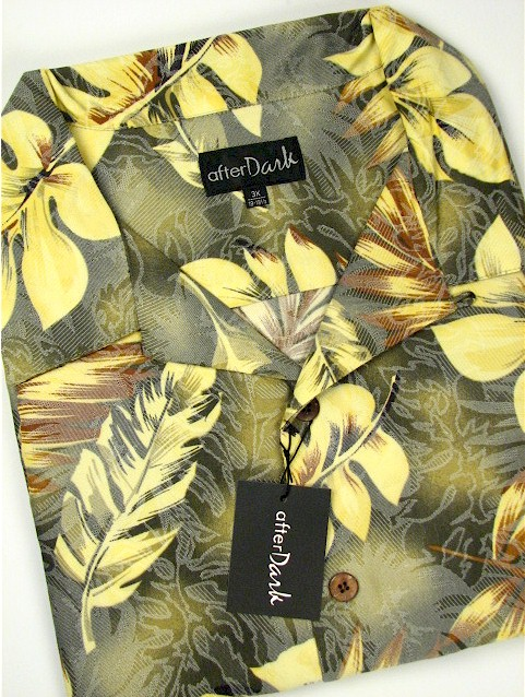 #068244. 5XL TALL. MULTI Retail $  69.00 Short Sleeve Tropical by COTTON WORKS. TROPICAL PRINT Whs A:  2