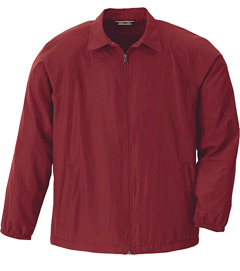 #151825. 3XL BIG. CRIMSON Retail $  49.00 Outerwear by NORTH END. FULLZIP LT WEIGHT JAC Whs A:  1