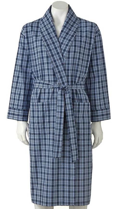 #356723. 10XL BIG. BLUE Retail $  55.00 Robes by HANES. WOVEN SHAWL ROBE Whs A:  6