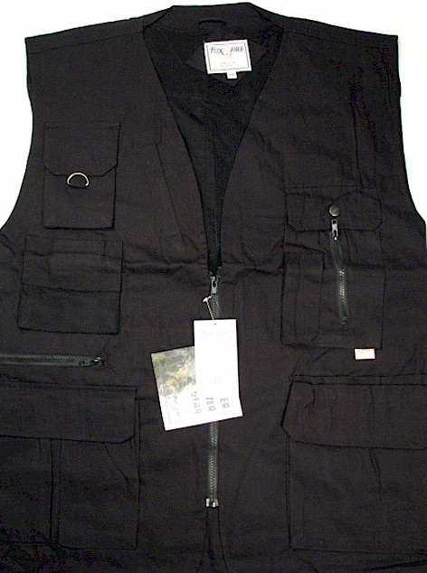 #227618. 3XL BIG. BLACK Retail $  59.00 Outerwear by FOXFIRE. ULTIMATE VEST Whs A:  5