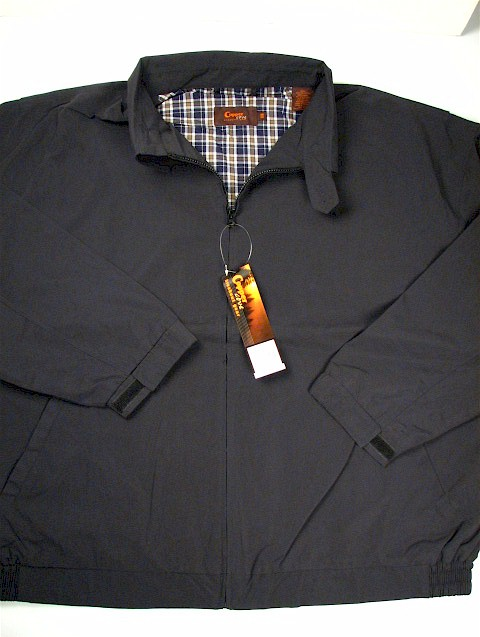 #218074. 3XL TALL. BLACK Retail $  85.00 Outerwear by COPPER COVE. LT WEIGHT JACKET Whs A:  2
