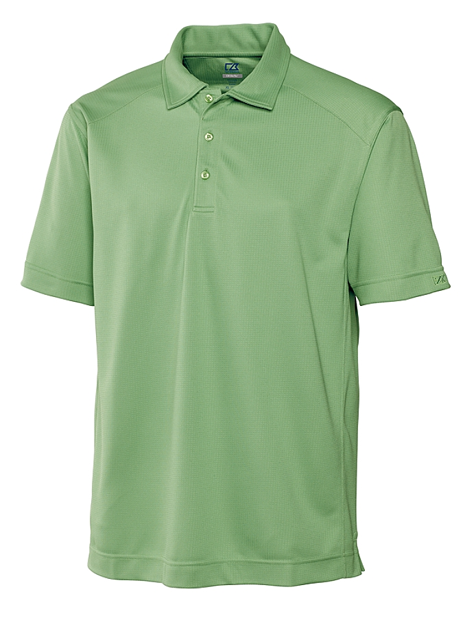 #037321. 2XL BIG. GREEN Retail $  58.00 Short Sleeve Stay Dry by CUTTER BUCK. DRYTEC GENRE POLO Whs A:  2