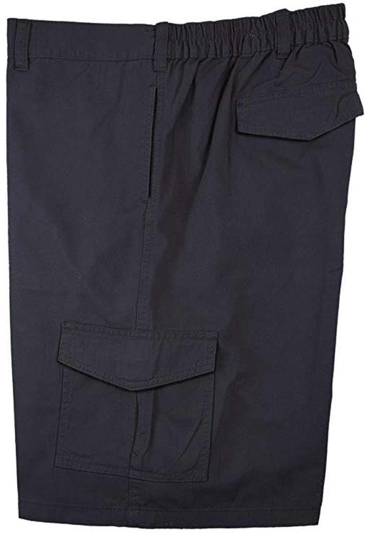 #068228. 7XL BIG. NAVY Retail $  48.00 Shorts by FALCON BAY. CARGO TWILL SHORT Whs A:  2 FBA:  3