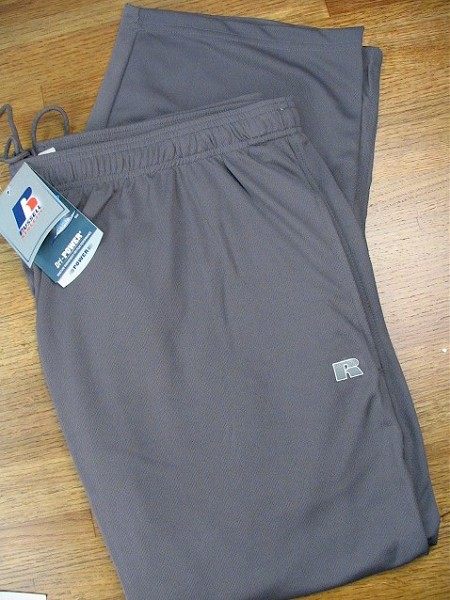 #162962. XL TALL. DK GREY Retail $  38.00 Dri-Power Pants by RUSSELL. DRI-POWER PANT Whs A: 71 FBA: 48
