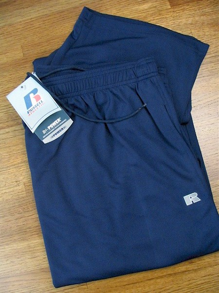 #023320. 3XL TALL. NAVY Retail $  38.00 Dri-Power Pants by RUSSELL. DRI-POWER PANT Whs A: 31 FBA: 12