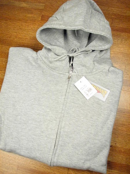 #051015. 3XL TALL. GREY Retail $  44.00 Athletic Crew by WHITE MOUNTAIN. FULL ZIP HOODY Whs A: 32