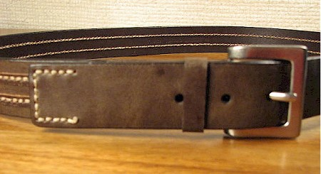 #039792. 50 . BROWN Retail $  40.00 Belts by OUTFITTER. FASHION JEAN BELT Whs A:  1
