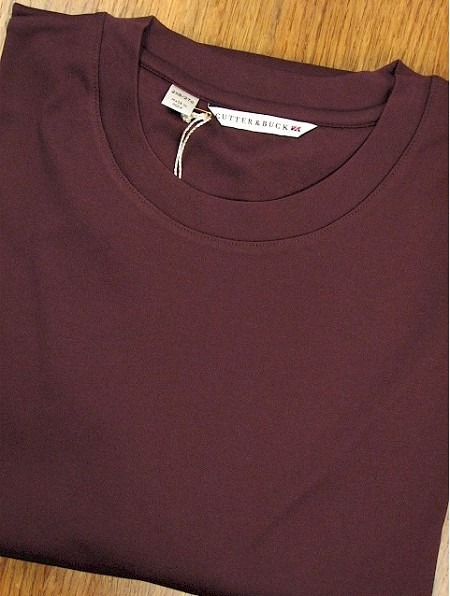 #153139. 2XL BIG. PLUM Retail $  74.00 Long Sleeve by CUTTER BUCK. DISTRICT CREWNECK Whs A:  1