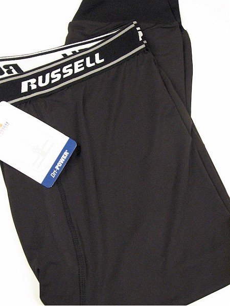 #112974. XL TALL. BLACK Retail $  33.00 Briefs & Boxers by RUSSELL. DRI-POWER SLEEP PANT Whs A:  3
