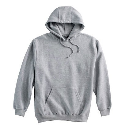 #150211. 4XL BIG. GREY Retail $  38.00 Athletic Crew by WHITE MOUNTAIN. PENNANT PULLOVR HOODY Whs A:  1