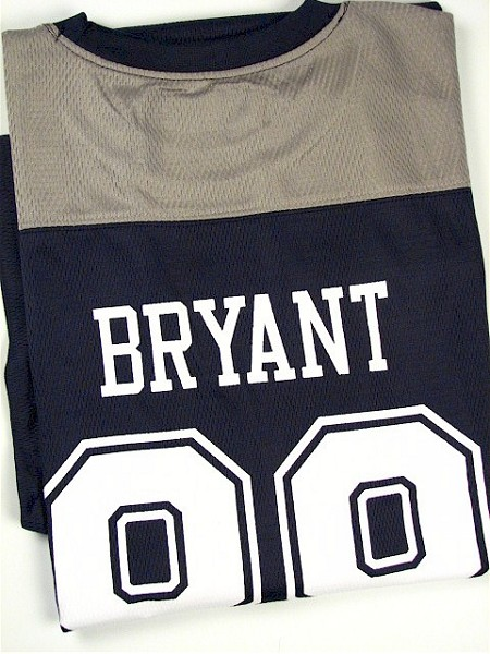 #007621. 2XL TALL. NAVY Retail $  75.00 Short Slv Graphic Tee by DALLAS COWBOYS. COWBOYS BRYANT 88 Whs A:  1