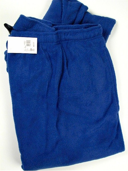 #015321. 2XL TALL. BLUE Retail $  33.00 Fluff Loungepants by HANES. FLUFF PANT Whs A:  8