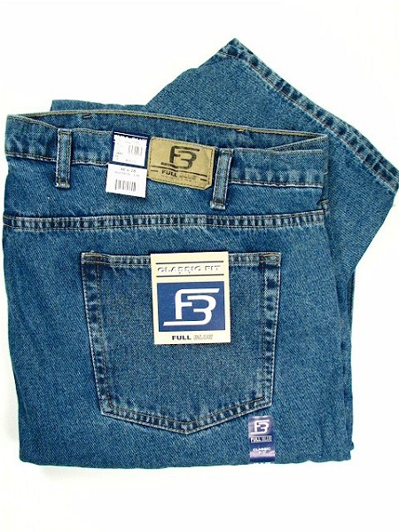 #051284. 62 30. INDIGO Retail $  44.00 Cotton Jean by FULL BLUE. 5 POCKET RELAXED FIT Whs A:  2 FBA:  4
