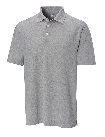 #131182. 2XL TALL. GREY Retail $  50.00 Short Sleeve Stay Dry by CUTTER BUCK. ELLIOT BAY POLO Whs A:  1