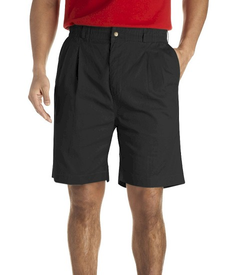 #019655. 68 . BLACK VINTAGE TWILL SHORT Shorts by CREEKWOOD. <font face=arial size=2><BR>Special Order Item.</font> <B>Item stocked by Creekwood.  Allow an extra 5 days for handling.</B>
