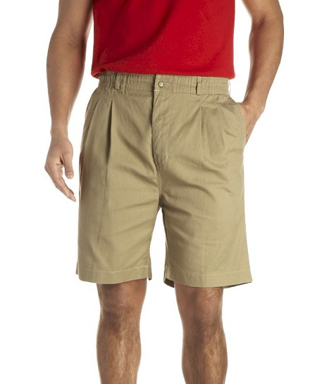#051172. 70 . KHAKI VINTAGE TWILL SHORT Shorts by CREEKWOOD. Whs A:  1 <BR><font size=2><b>Incl units held @ mfg.