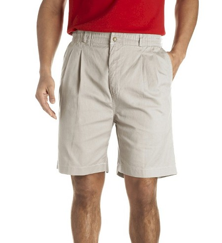 #161901. 68 . STONE VINTAGE TWILL SHORT Shorts by CREEKWOOD. <font face=arial size=2><BR>Special Order Item.</font> <B>Item stocked by Creekwood.  Allow an extra 5 days for handling.</B>