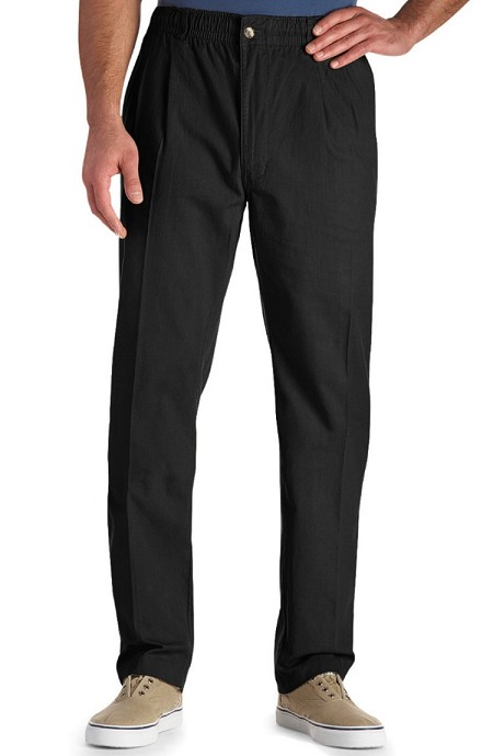 #022167. 60 . BLACK VINTAGE TWILL PANT Cotton Casual Pants by CREEKWOOD. <font face=arial size=2><BR>Special Order Item.</font> <B>Item stocked by Creekwood.  Allow an extra 5 days for handling.</B>