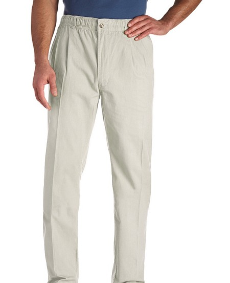 #153720. 66 . STONE VINTAGE TWILL PANT Cotton Casual Pants by CREEKWOOD. <font face=arial size=2><BR>Special Order Item.</font> <B>Item stocked by Creekwood.  Allow an extra 5 days for handling.</B>